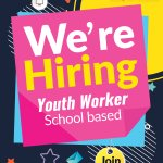 Image for the Tweet beginning: 𝗩𝗔𝗖𝗔𝗡𝗖𝗬 𝗥𝗘𝗠𝗜𝗡𝗗𝗘𝗥❗️ *Youth Worker (School