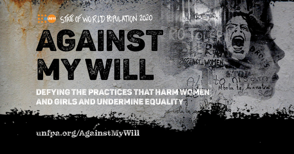 """Today we launch #UNFPA flagship report, the 2020 State Of the World Population (SWOP) report, """"#AgainstMyWill defying the practices that harm women & girls and undermine equality"""" #SWOP2020 https://t.co/TxyHSEdCLj"""