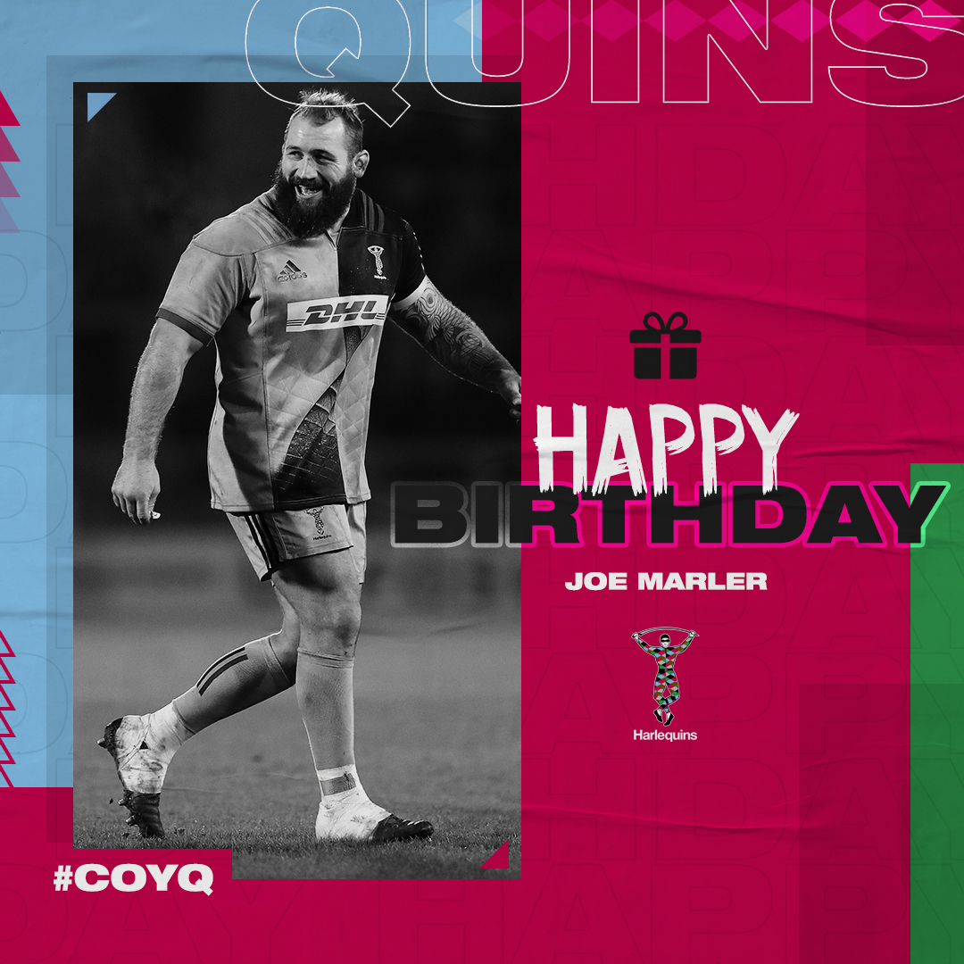 🥳 Happy Birthday @JoeMarler!   🎁 Have a great day.   #COYQ https://t.co/awK11JTwlE
