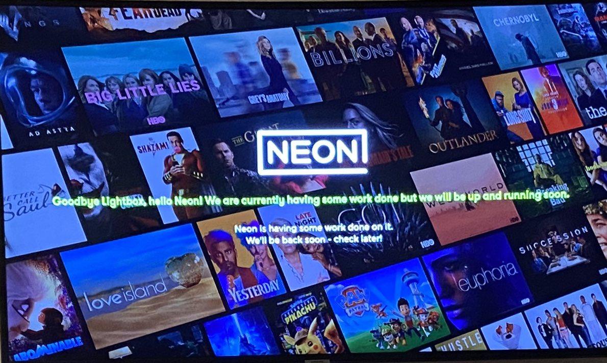 Not the greatest launch ever. Sigh. @NeonNZ @LightboxNZ #neonnz