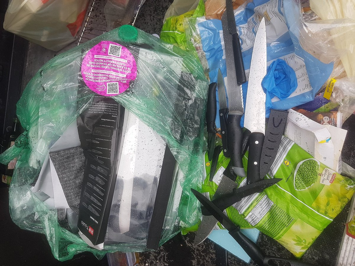 Cardiff Council On Twitter The Safest Way To Dispose Of Old Kitchen Knives Is To Take Them To Your Local Recycling Centre And Put Them In The Scrap Metal Bins They Should