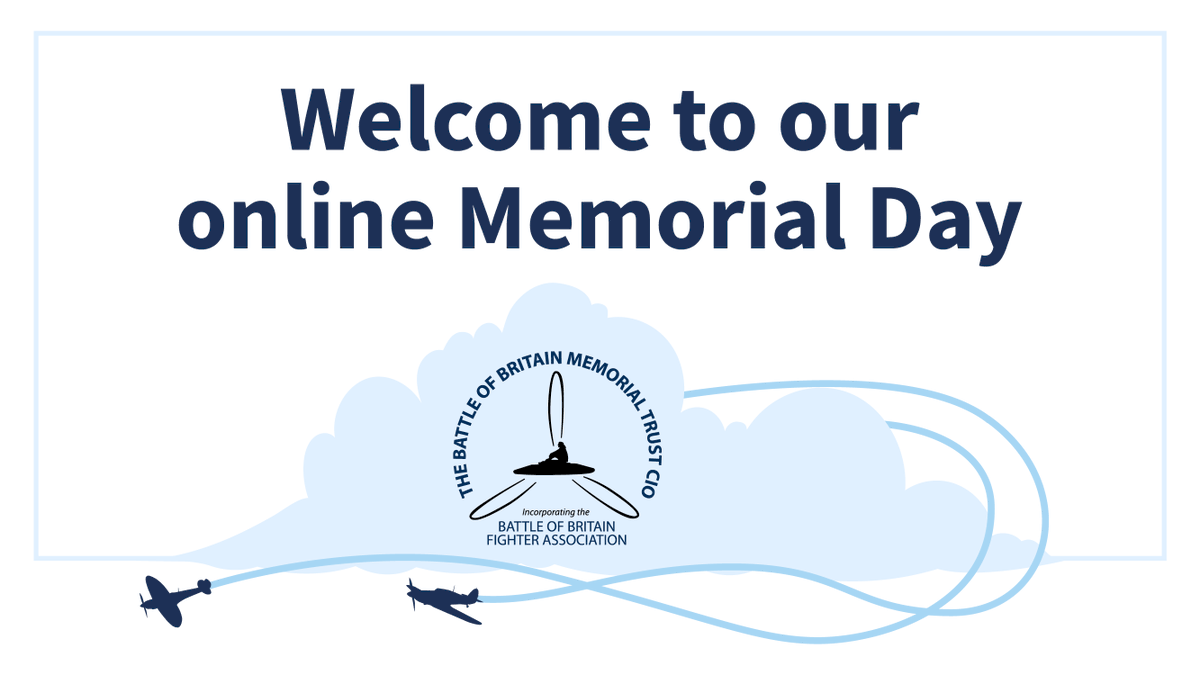 Will you be joining us for our virtual Memorial Day this Sunday at 11am on YouTube?   AVM the Ven Ray Pentland CB, Honorary Chaplain to the Memorial Trust has put together an exciting video to recreate the commemoration virtually: https://t.co/Tp5zdysUVE #WW2 #theFew #MemorialDay https://t.co/pp4ZJ22ZzQ