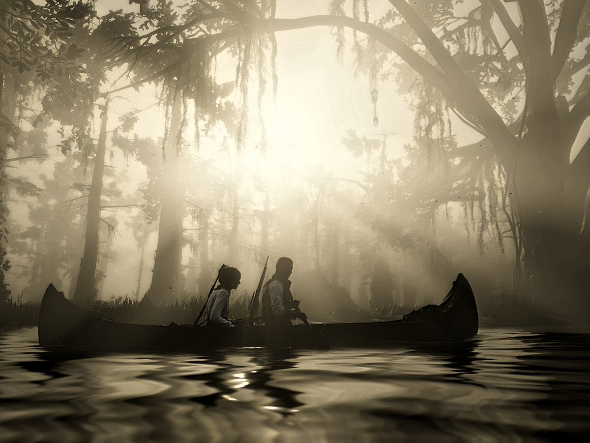 A day on the river   Tap to expand   #LorenzoCortez #BennettGreen #RedDeadOnline pic.twitter.com/hGOxTeo6Zk
