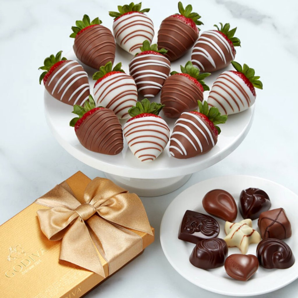 It's #WorldChocolateDay, and we have the perfect way to treat yourself! Try our Same-Day Delivery to get fresh chocolate dipped fruit delivered to your door today. https://t.co/hfGSusfSFq