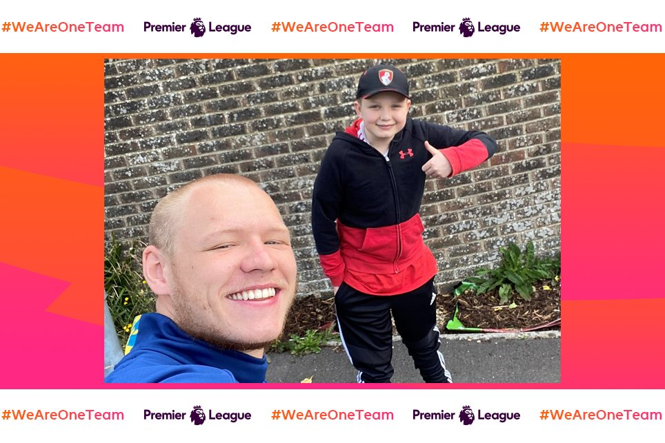 For Aaron to go the extra mile has been amazing How @afcbournemouth keeper @AaronRamsdale98 has been helping 12-year-old George during lockdown ➡️ preml.ge/mha3z #WeAreOneTeam