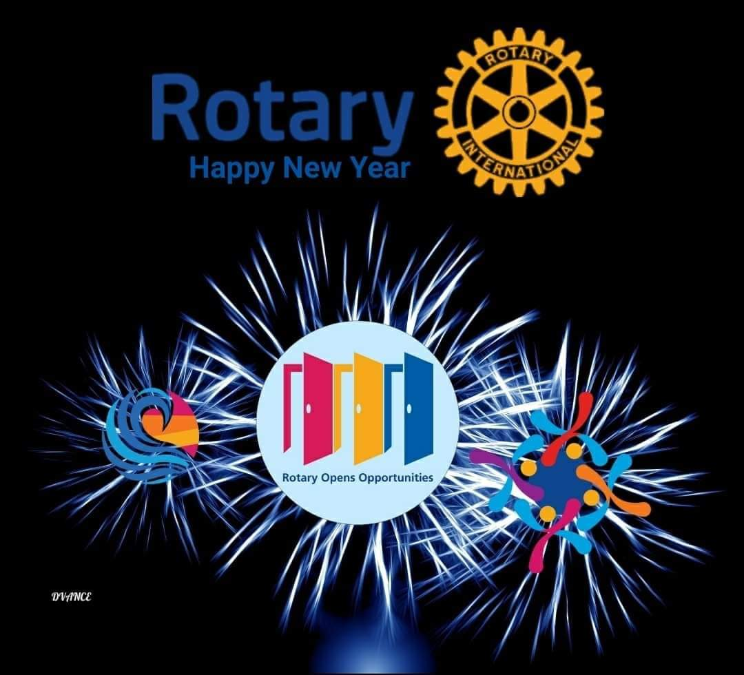 Happy New Rotary year to all Rotarians and friends of Rotary worldover! 🥂  #Rotary, #RotaryOpensOpportunities https://t.co/SUdtnVp8Al