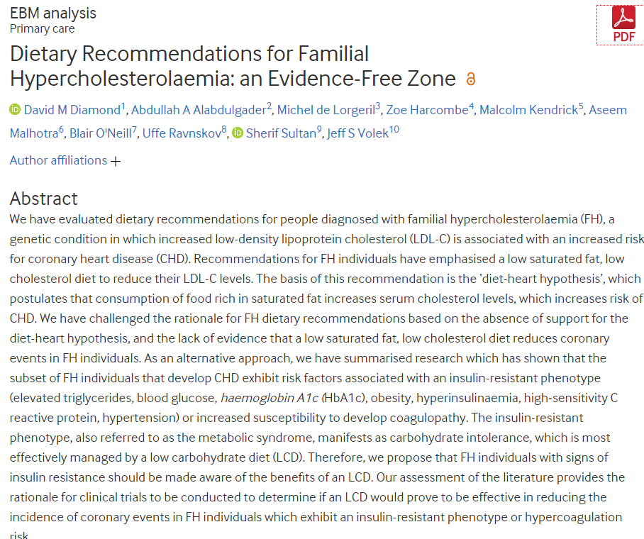 Dietary Recommendations for Familial Hypercholesterolaemia: an Evidence-Free Zone ebm.bmj.com/content/early/…