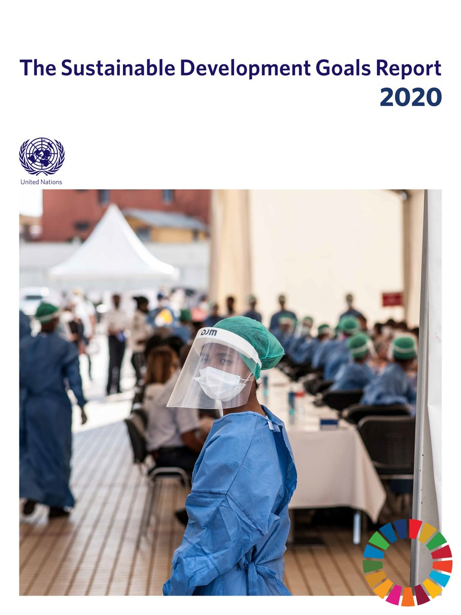 How is #COVID19 affecting progress on the #GlobalGoals?  ⚕️Good health ⚖️ Reducing inequalities 🍜Zero Hunger 📚Education ☔#ClimateAction  The #SDGreport 2020 provides the latest data on all the #SDGs  Watch the launch live TODAY at 7.30pm Beirut Time: https://t.co/4Abinc3I9X https://t.co/PFrvink0Zd