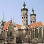 Image for the Tweet beginning: Naumburg Cathedral, constructed beginning in