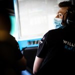 It can get pretty tense in the garage, especially during a race like Sunday's 😲  #WeAreWilliams 💙