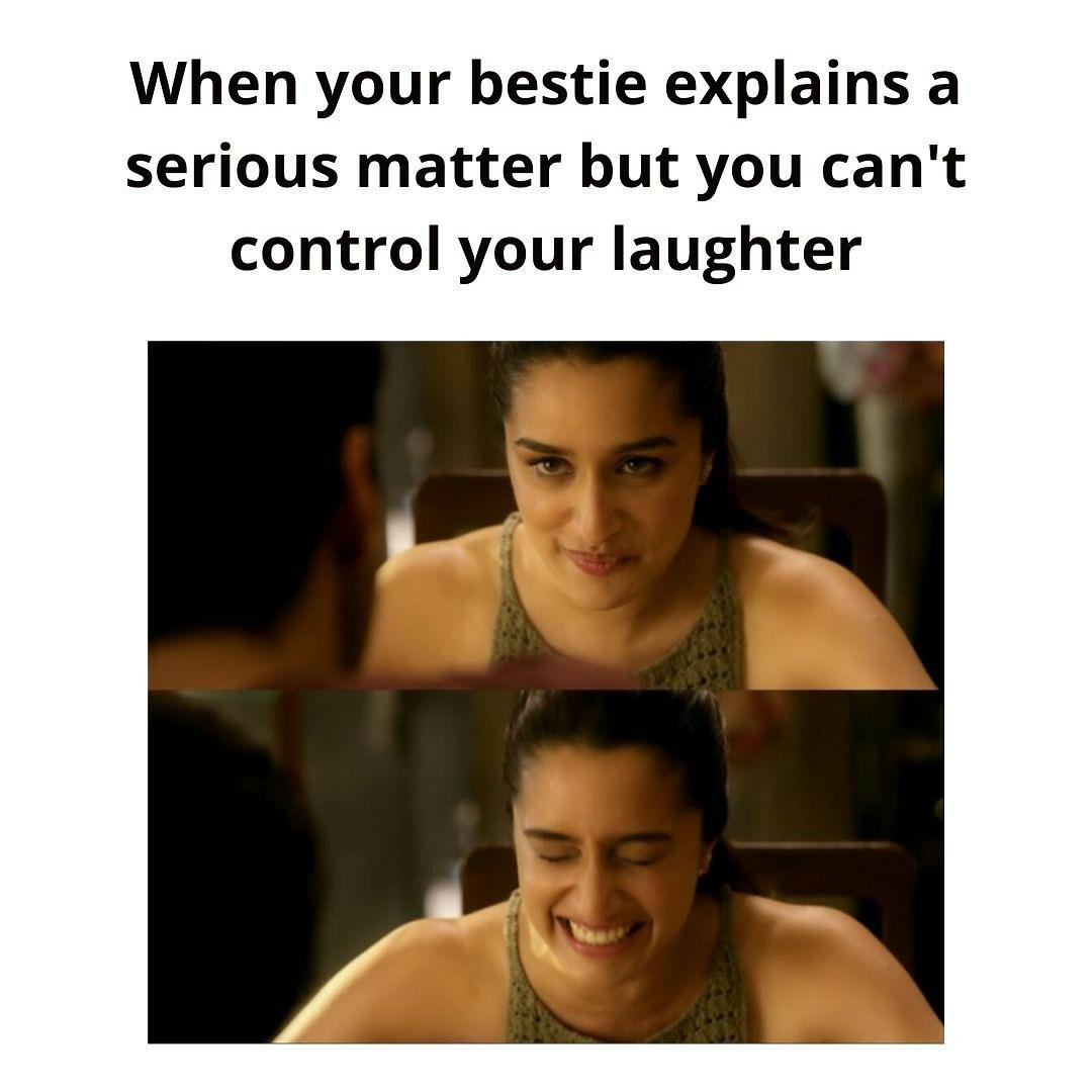 So accurate 😂 @ShraddhaKapoor #shraddhakapoor #meme #fun #memefun