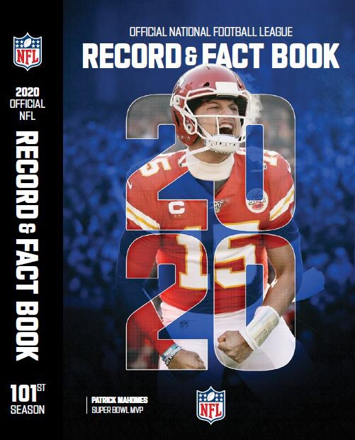 NFL 2020 Record & Fact Book is fresh off the printing press today. And look who's on the cover? The Half-Billion Dollar Man. https://t.co/2flTU8dvi4