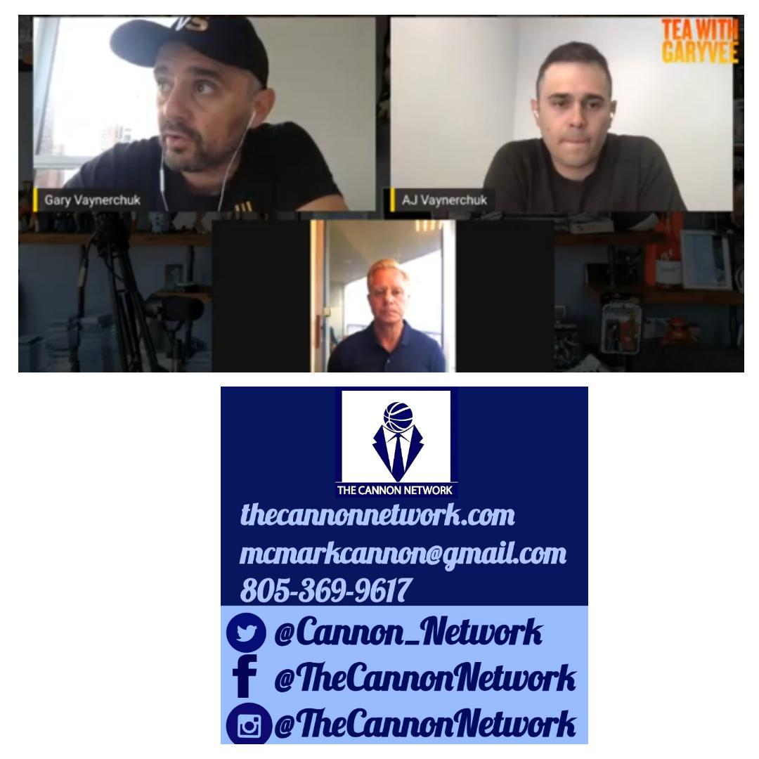 Watching @garyvee @ajv talk about @vaynersports expansion into baseball https://youtu.be/FrYTmDO6Q9o as I keep building my basketball blog @Cannon_Network https://thecannonnetwork.com/  each day. #TeawithGaryVee #baseball #basketball  #TheCannonNetworkpic.twitter.com/wfg1OKWmYo