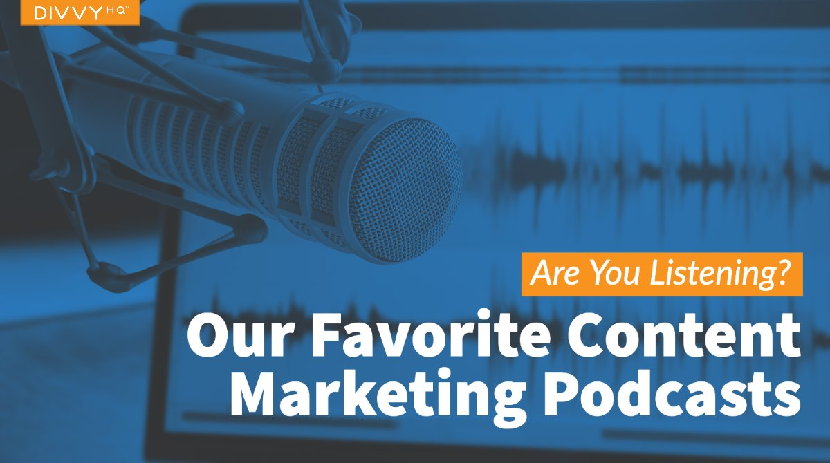 Does your #ContentMarketing team want to start a #podcast? Step 1: study content marketers who rock the podcast niche:  @CMIContent @orbiteers @marketnerds @copybloggerFM @unbounce @ducttape @garyvee @ericosiu/@neilpatel @problogger https://snip.ly/347yxlpic.twitter.com/BSZCrNAtju