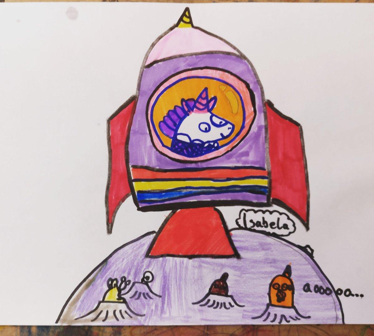 Isabela, nearly 9, enjoyed drawing #drawingwithsarah @jabberworks @booktrust #cressidasummercamp