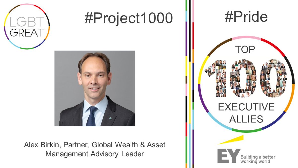 """I am passionate about helping the global asset and wealth management industry understand the benefits of a diverse workforce"" - Alex Birkin, Partner, Global Wealth & Asset Management Advisory Leader, @ey #Project1000 #Pride #YouMeUsWe https://t.co/h4zmZbRJwZ https://t.co/QGcaKd9NcN"