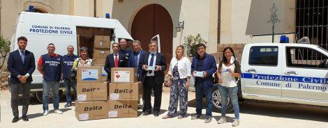 Società cinese dona 20mila mascherine al Comune di Palermo (VIDEO) - https://t.co/TsM9c7LgMp #blogsicilianotizie
