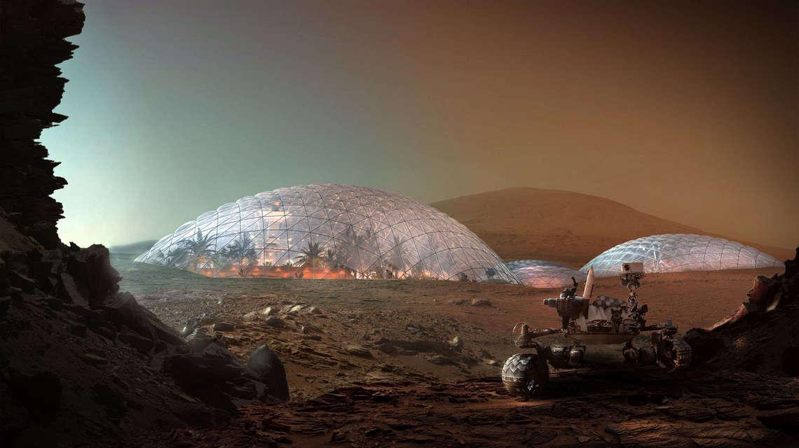 Willkommen auf dem #Mars! Ein spannender Artikel mit Blick in die nicht mehr so ferne #Zukunft.