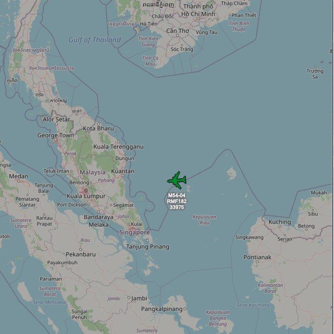Royal Malaysian A400 M54-04 RMF182  #Malaysia #A400M https://t.co/VkWdGo75HM