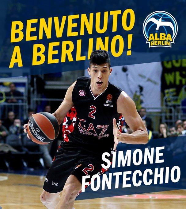 Ufficiale: Simone Fontecchio è dell'Alba Berlino, firmato un triennale