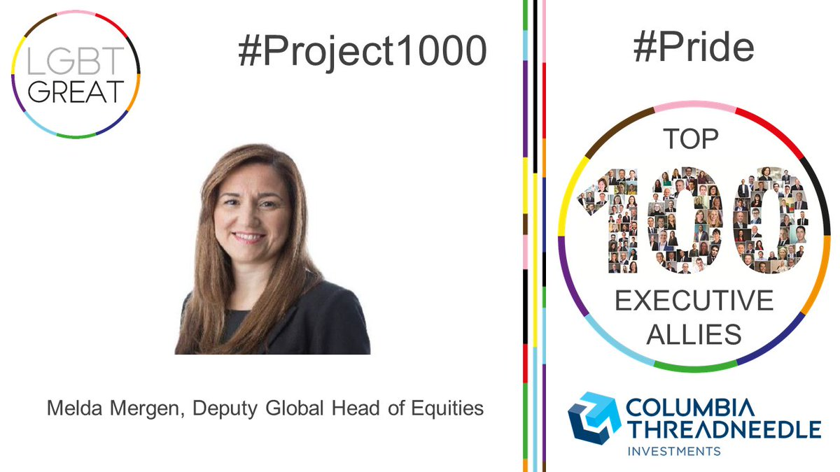 """I believe deeply in the importance of creating an inclusive culture where everyone feels safe, valued and empowered"" - Melda Mergen, Deputy Global Head of Equities, @CTinvest_EMEA #Project1000 #Pride #YouMeUsWe https://t.co/h4zmZbRJwZ https://t.co/HBc0jJ5hI1"