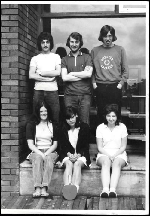Steve Parker (1972) donated this photo of the Table Tennis Team, pictured here in 1971 🏓 #GivingTuesday #AlumniHistory https://t.co/ctwRyUCyKJ