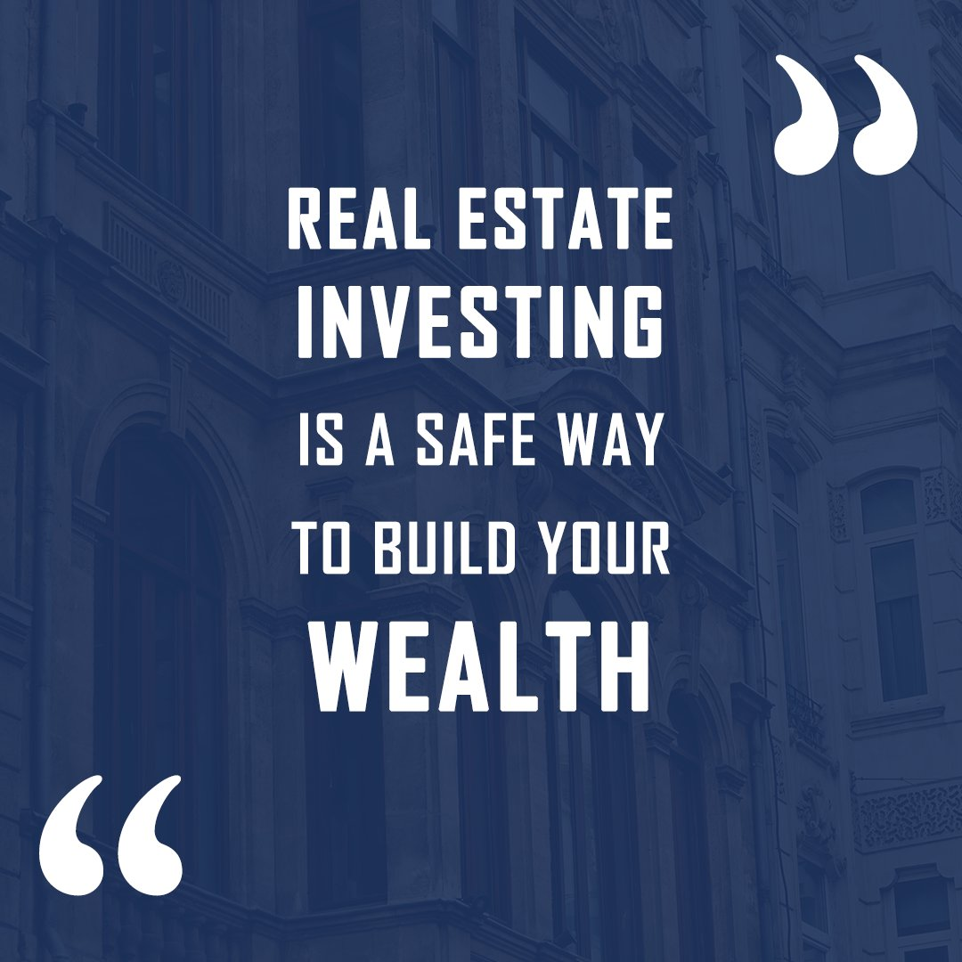 Quote of the day  Real estate investing is a safe way to build your wealth ⠀  #donnasellsdmvrealestate #mdrealtor #dmvrrealestate #realestatetips #realestate #newhomebuyers #homebuyers #homebuyinggoals #investment #investors #loans #homeloan #homeownertips #educate #knowledge https://t.co/tVSh4lADTA