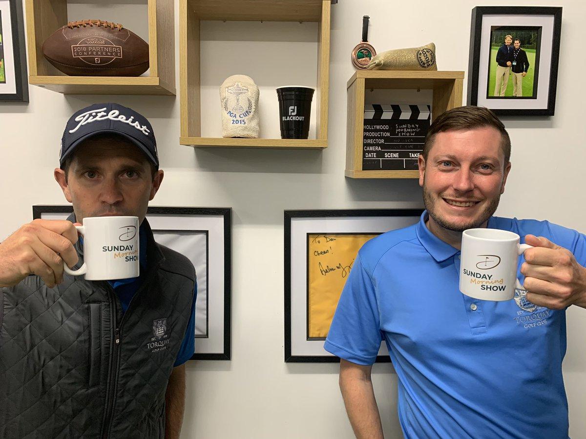 A couple of mugs!! Bone China, sorry made in China 😂 #sundaymorningshow