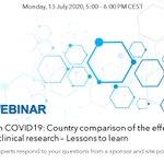 Image for the Tweet beginning: EFGCP Q&A Webinars session on