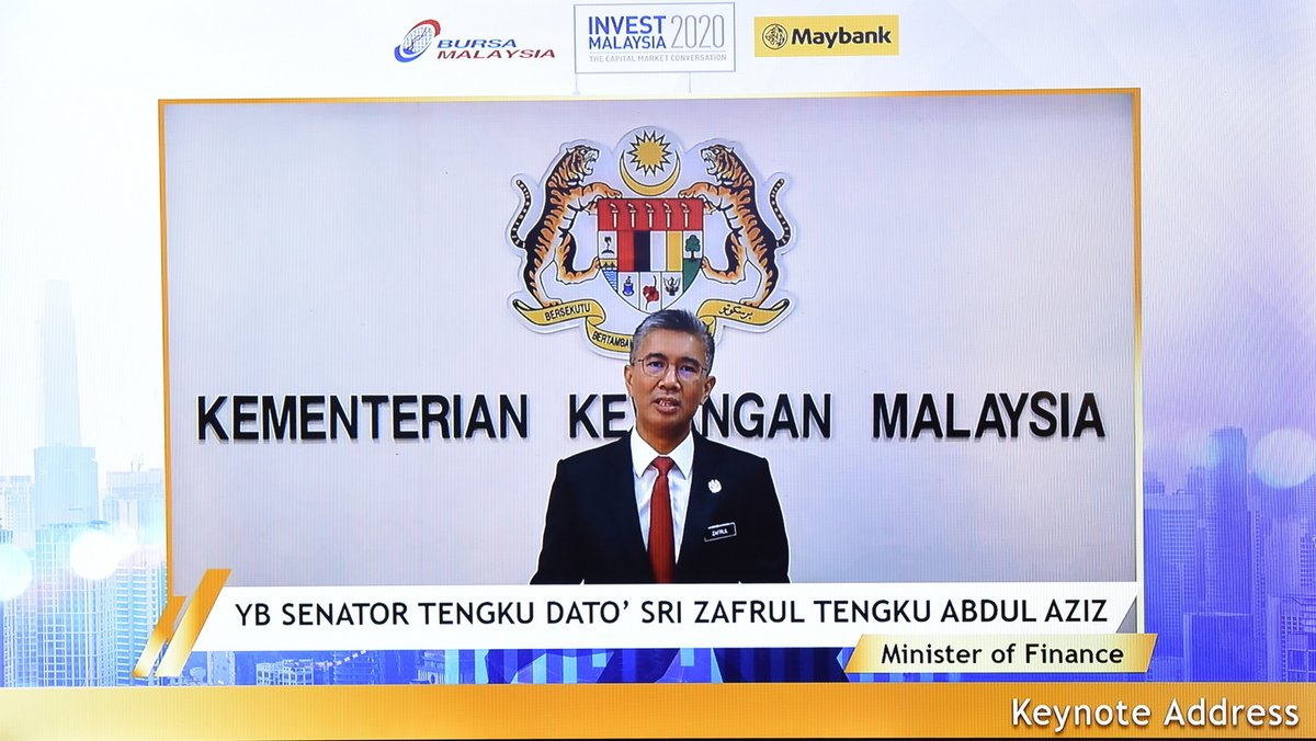 The Exchange today set the tone of the 16th Invest Malaysia themed Invest Malaysia Virtual Series 1:Economic Recovery-Policies & Opportunities held in collaboration with  @MyMaybank. Head over to @BursaMKTPLC FB page to watch a repeat of selected sessions. https://t.co/vGZ2lStfsz https://t.co/6T0dgGq4aW