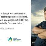 Image for the Tweet beginning: Vjeran Piršić of #EUKI partner