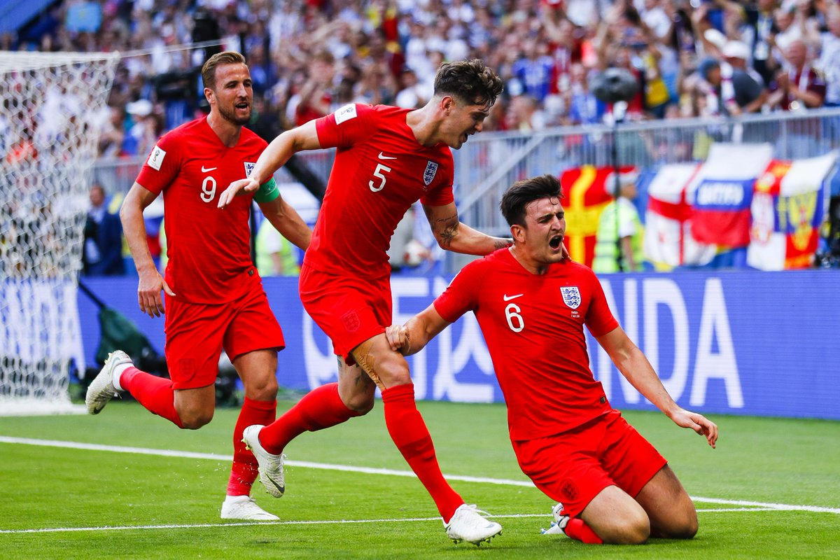 What a day 😍 #OnThisDay two years ago, the #ThreeLions secured a place in the @FIFAWorldCup semi-finals for the first time since 1990.
