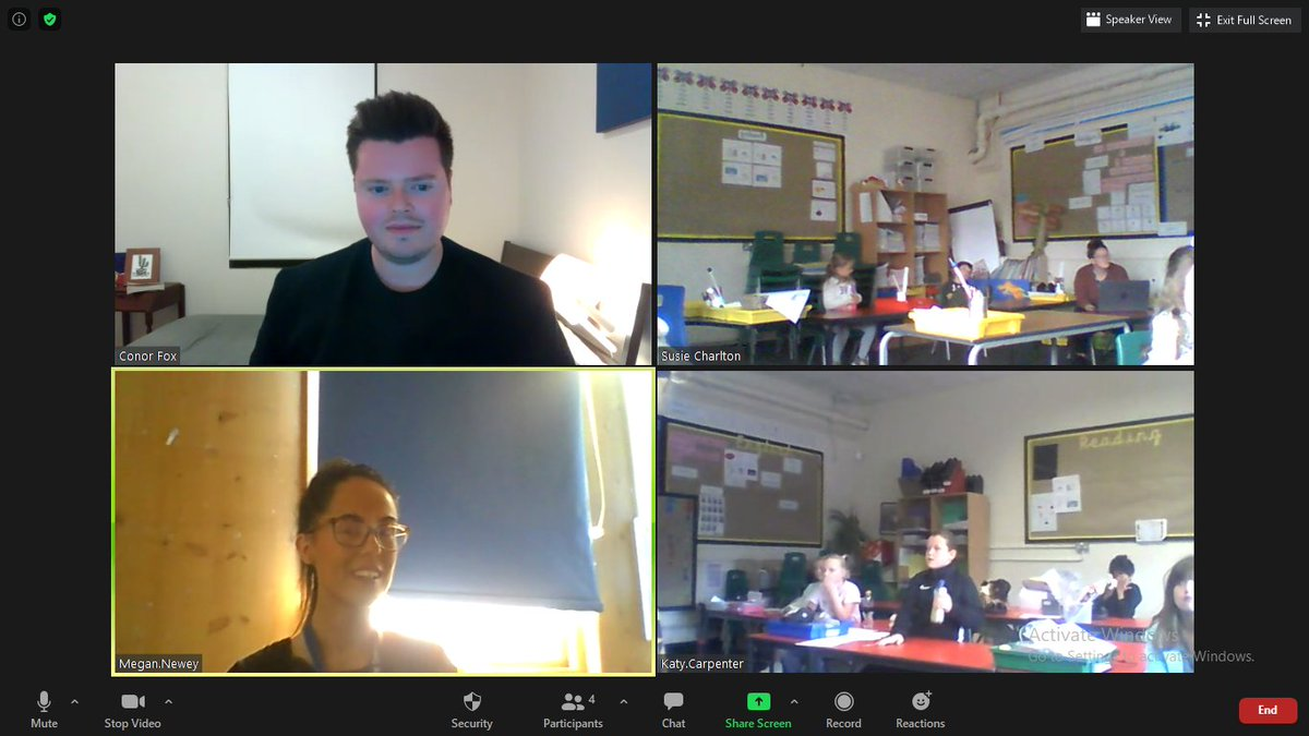 LIVE WITH MELBOURNE, AUSTRALIA. Thank you to @MrFoxTeaches for answering all our questions about what lockdown is like in AUSTRALIA! Lovely to meet Seamus  too!pic.twitter.com/hoUNZU8evi