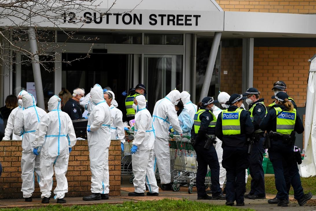 Australia decretó un confinamiento de seis semanas en Melbourne tras un rebrote de coronavirus http://bit.ly/2VVYoLopic.twitter.com/xQ142DbklM