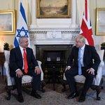 Image for the Tweet beginning: Prime Minister Netanyahu spoke last