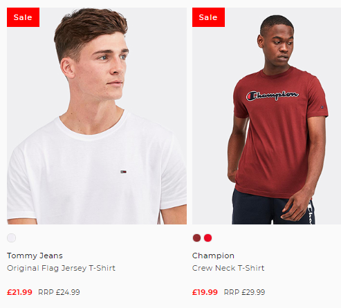Up To 50% Off Off Sale Including Clothing & Footwear At @Footasylum   - Perfect For Cheap Summer Tees  Available Here: https://bit.ly/ftsylm50  #tommyhilfiger  #champion  #TheHoxtonTrendpic.twitter.com/qbWQRHrhOf