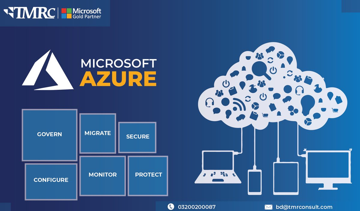 Boost the growth of the business by using the powerful Azure Cloud Service and ERP consultancy with exceptional services provided my Micro Soft Partner TMR Consulting Pvt Ltd. Please visit our best website for more details: https://tmrconsult.com #Azure #CloudComputing pic.twitter.com/R40Nhtnfqa