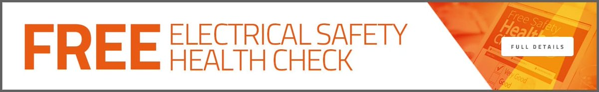 A free electrical safety health check is available at our valued partner, @elecsafety.