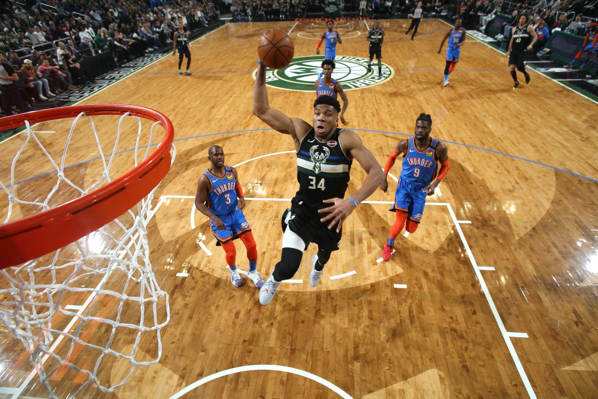 A refresher on the 2⃣2⃣ teams going to Florida for the NBA Restart  With Giannis Antetokounmpo and Khris Middleton combining for 50.7 Points per game, the Bucks will restart the season with the best record in the NBA🦌 #WholeNewGame https://t.co/HIQ25STacn