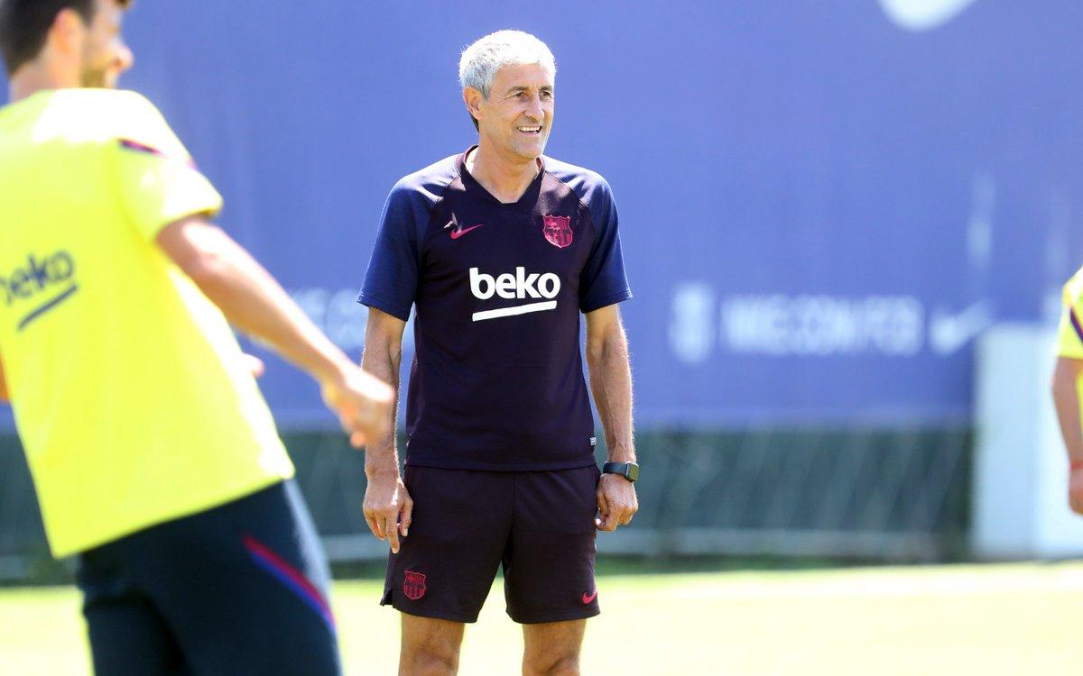 🗣 @QSetien: Tenemos que ganar todos los partidos, y ver una progresión en el equipo 🔜 #BarçaEspanyol 📡 EN DIRECTO: barca.link/8xdB30qPcfe