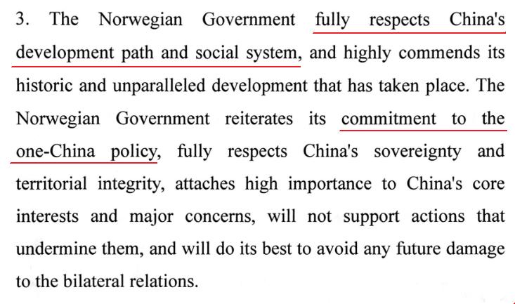 @sodronen @jasnoen Also, why does Norway stay silent over China's abuse of the Uighurs? #ConsistentPartner https://t.co/w4R7eNHaQT
