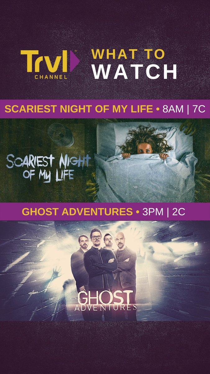 Get haunted or join the investigation...we've got a marathon for you!  Check out the full lineup>>> https://t.co/VrkIyE8Bgi https://t.co/AXwPJMV7H7