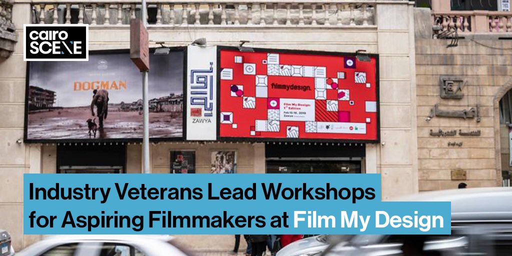 Aspiring filmmakers and designers alike will be able to join this five-month programme through Cairo-based film festival Film My Design.  https://t.co/V0eayiMdRO https://t.co/pZfveBjWbp