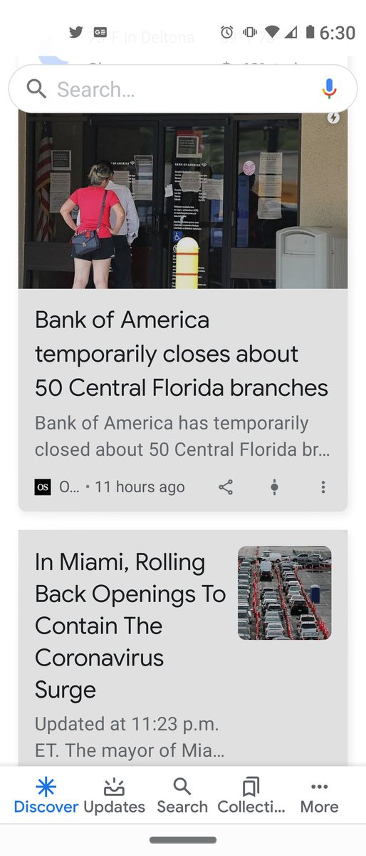 I live in the #FloridaCovidEpicenter I see this vital article on my @Google updates BUT when I go to read it I get whats in the 2nd pic. Several papers have their #coronavirus articles free - whats your problem @orlandosentinel ? #COVID19