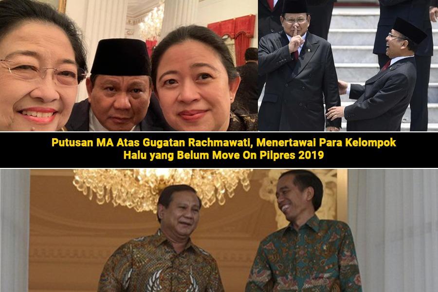 Putusan MA Atas Gugatan Rachmawati, Menertawai Para Kelompok Halu yang Belum Move On Pilpres 2019  Oleh : Rofiq Al Fikri (Koordinator Jaringan Masyarakat Muslim Melayu / JAMMAL)  SEBUAH UTAS https://t.co/6By6OOepv4