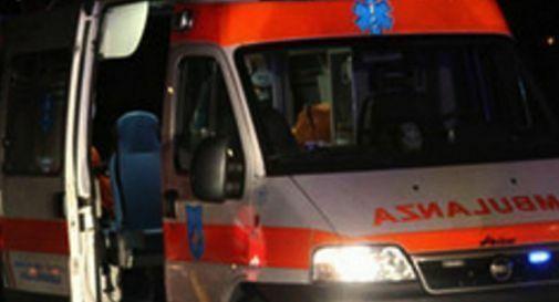 Frontale a Ponzano, ferito un bambino di 8 anni ht...