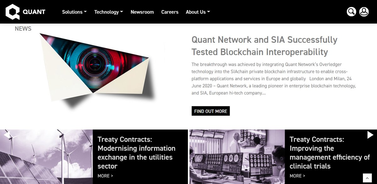 Say hello to the new @quant_network website ✅ Check it out 👉 quant.network ✅ A new look for a new era #Overledger $QNT #OVN #OL
