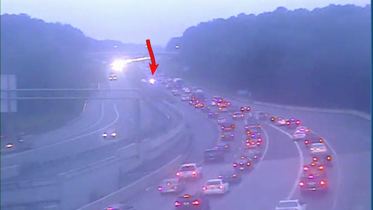 Heads up Lawrenceville, a wreck Hwy 316 WB past Collins Hill blocks a left lane. #MorningRushATL #11alive