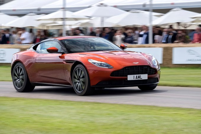 The @fosgoodwood 2016. DB11, Vantage…