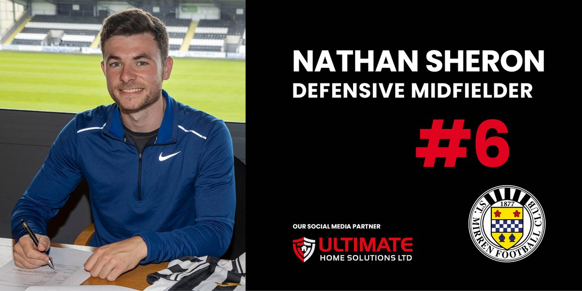 St Mirren Football Club is delighted to announce the signing of Nathan Sheron (@nathan_sheron) on loan from @ftfc. stmirren.com/all-news/3710-…